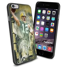 NFL Green Bay Packers Aaron Rodgers, Cool iPhone 6 Smartphone Case Cover Collector iphone TPU Rubber Case Black Phoneaholic http://www.amazon.com/dp/B00U7VGP6U/ref=cm_sw_r_pi_dp_ku0nvb0N4C87F