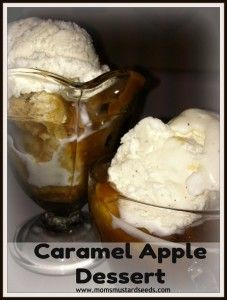 Slow Cooker Caramel Apple Dessert - Mom's Mustard Seeds