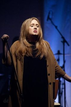 Adele performs at Kesselhaus in Munich, Germany Mar, 2011. Portrait by Photographer Stefan M Prage for Redferns. #Music #Concerts