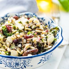 Healthy Salads, Healthy Recipes, Healthy Food, Orzo Risotto, Food Test, Pasta Noodles, Everyday Food, Pasta Salad, Entrees