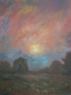 Paysage Huile sur toile 30x40 cm Expositions, Philippe, Arts, Painting, Oil On Canvas, How To Paint, Board, Landscape, Drawing Rooms
