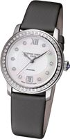 Show details for Frederique Constant Slimline Mother of Pearl Diamond Ladies