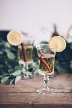 Friendsgiving Hot Toddy recipe // Craftandcocktails.co