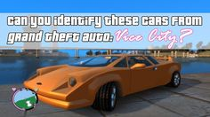 "Can You Identify These Cars From ""Grand Theft Auto: Vice City""?"