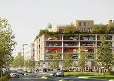 """Bordeaux car park by Brisac Gonzalez with """"activities after hours"""""""