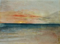 Titulo de la imágen William Turner - Sunset