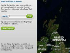 UK Flood alerts on facebook https://apps.facebook.com/FloodAlerts/