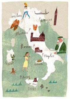 マレーラはイタリアで作られています。 パスタ工場があるのは右下のほう。 イタリア半島のかかと近くの港町バーリとターラントの中間のギリシャ古代文明が栄えた地「ジョイア・デル・コッレ」にあります。