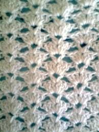 Crochet Shell Stitch, Single Crochet Stitch, Hand Crochet, Crochet Stitches, Crochet Throw Pattern, Baby Afghan Crochet Patterns, Baby Blanket Crochet, Diy Crafts Crochet, Crochet Baby Booties