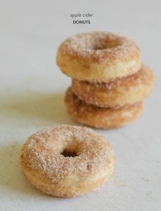 Recipe Box: Baked Apple Cider Donuts. Did it!