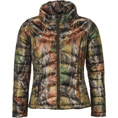 cfc8044340d8a Women's Camo Ultra-Thermic Silk Padded Quilted Jacket