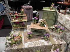 Seattle Show March 12 - Dollhouse Land by Laura Crain