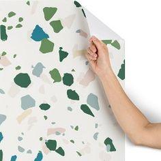 Faux Cork Peel & Stick Wallpaper White RoomMates in 2019