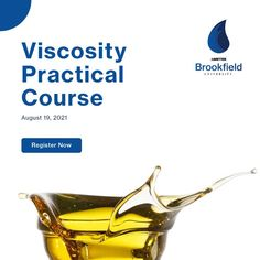 Join our Practical Course on Viscosity Measurements. 👉On 19th August This course is designed to help you get the most out of your AMETEK Brookfield viscometer. You will learn proper test method procedures and types of fluid behaviour through information, activities, and techniques that can be easily understood and applied. Learn what trainings are available at a time and location near you. To enroll, please contact rajendra.parkar@ametek.com #OnlineCourse #QualityControl University Courses, Training Schedule, World Leaders, Online Courses, How To Apply, Learning, Centre, Join, India