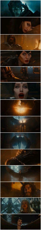 Wings Return Scene | Maleficent