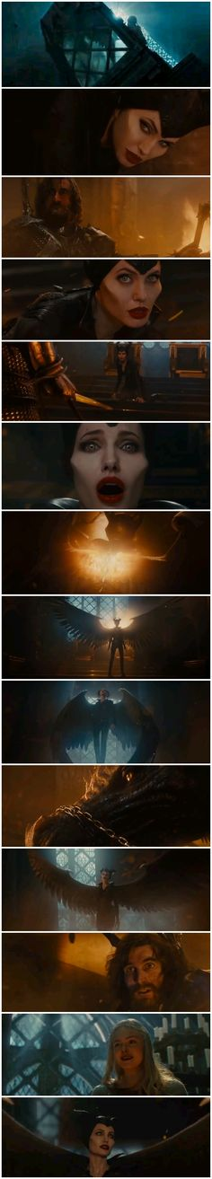 Wings Return Scene | Maleficent