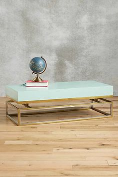 Lacquered Rectangular Coffee Table