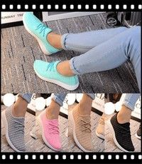 Wish | spring fly fabric shoes flat shoe lovers shoes sports shoes shoes pierced coconut