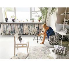 Shooting the new studio / showroom today!  @brianadevoe  #eskayel #eskayelstudio