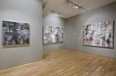 TORN, ROBERT SANDELSON GALLERY, 2008 INSTALLATION SHOT Abstract Paintings, Photo Wall, Objects, Gallery, Photograph, Abstract Drawings