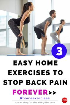 Pain in the lower back (lumbago) is particularly common, although it can be felt anywhere along the spine. A quick back pain relief can be achieve following these exercises in the morning & some remedies that you can do easily at home. YOU CAN STOP THAT ANNOYING PAIN👍 Back spasm relief,lower back pain relief,back pain relief lower,lower back pain,chronic back pain,back pain relief,back pain relief upper,leg pain relief,low back pain, back pain quick relief,at home exercises Back Spasm Relief, Lower Back Pain Relief, Low Back Pain, Toning Workouts, Easy Workouts, At Home Workouts, Exercises, Leg Pain, Feeling Great