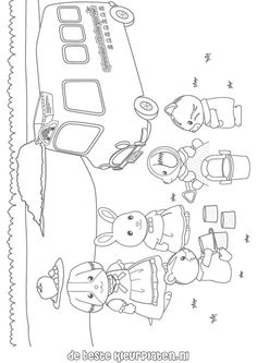 Sylvanian-Families006 coloring pages and you can find many more like these on Printable coloring pages which is there for all your coloring needs.