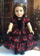 Rose E're Blooming Dress and Winter Cloak