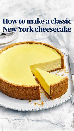 Easy Cheesecake Recipes, Dessert Recipes, Cheescake Recipe, Cheesecake Desserts, Chocolate Cheesecake, Fun Baking Recipes, Cooking Recipes, Cheesecakes, Delicious Desserts