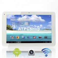Ships From International Warehouse Cube U30GT 10.1 Capacitive Screen Dual-Core Android 4.1 16GB Tablet PC with Camera OTG White This Tablet Pc features fast speed and stronger performance, has a system that can upgrade and support multiple programs at the same time.  #tablet #cell #phone #computer #shopping #shop #deals #PC #wireless #smart #tv #Media #Player #Cloud #droid #Market #Google #Phone