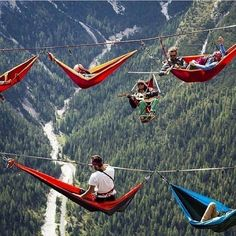Extreme meet in the mountains. Don't roll out of bed!