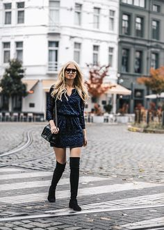 How to Wear Over-the-Knee Boots | StyleCaster