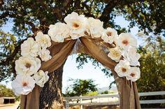 Summer Ceremony Decor: Arches & Altar Arrangements - WeddingWire: The Blog