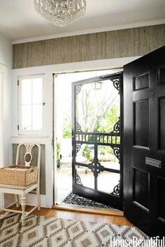 Old fashioned looking screen door. I LOVE A SCREEN DOOR!! by delia