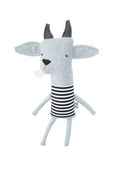 Plush Goat Friend Finkelstein's Center Handmade by finkelsteins