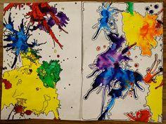 Adventures of an Art Teacher: Splashes of Color