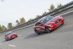 Дизельная #Mazda6 установила 20 рекордов скорости.