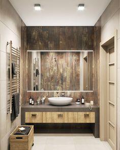 Ванная комната в стиле темный лофт
