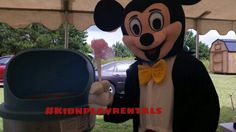 Mascot appearances in Upstate South Carolina. Mickey Mouse Www.facebook.com/kidnplayrentals