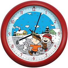 PEANUTS Christmas Carols Holiday Dancing Friends Musical Clock Charlie Brown *** Check out the image by visiting the link.