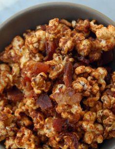 spicy bacon popcorn
