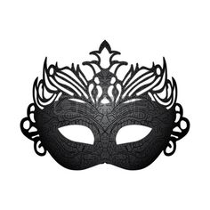 Vector Illustration Carnival Mask Isolated On White Background