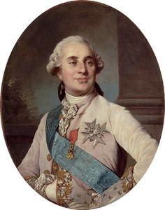 Portrait de Louis XVI, roi de France et de Navarre (1754-1793) par Joseph-Siffrein Duplessis (1725–1802)