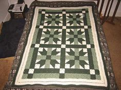 butterfly quilt afghan  Pattern source: Patchwork Afghans Thru the Year, published by Leisure Arts