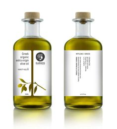 KARNOS organic olive oil on Behance More