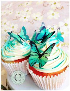 Secret Garden Wedding Cupcakes...