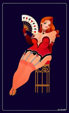 Plus Size Burlesque Art by Nusillu