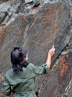 Gravuras rupestres, Foz Côa, Portugal - Pesquisa Google