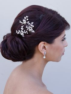 15 Stunning Updo #Wedding Hairstyles. To see more: http://www.modwedding.com/2013/10/21/15-updo-wedding-hairstyles/ #weddinghairstyles #updo