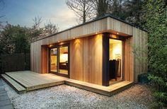 Pequenas casas, mas luxuosamente confortáveis