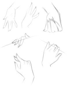 You guys got me so amped up with the foot tutorial (and I'm stuck at home with the flu) so with some modelling help from my hubby I present to you some hand examples! It opened up a few more things...